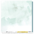 Papier uni 30.5 x 30.5 cm Les Ateliers de Karine Collection Hey Baby - Celadon