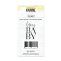 Tampon Clear Les Ateliers de Karine Collection Hey Baby - Hey baby