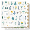 Papier 30.5 x 30.5 cm Les Ateliers de Karine Collection Green & Graphik - 4