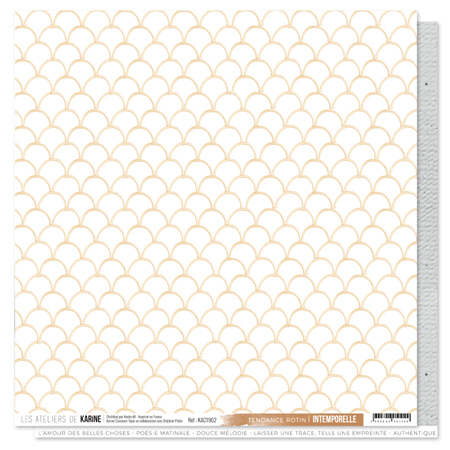 Papier 30.5 x 30.5 cm Les Ateliers de Karine Collection Intemporelle - 2