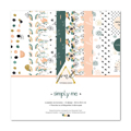 Kit papiers 30.5 x 30.5 cm Papernov Design Collection Simply me