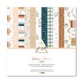 Kit papiers 30.5 x 30.5 cm Papernov Design Collection Warm home