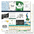 Papier 30.5 x 30.5 cm Les Ateliers de Karine Collection Green & Graphik - 3