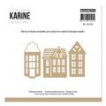 Matrice de coupe Les Ateliers de Karine Collection Woodland - Maisonnettes
