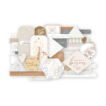 Die cuts 10 x 15 Les Ateliers de Karine Collection Intemporelle