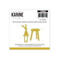 Matrice de coupe Les Ateliers de Karine Collection Hey Baby - Doudou