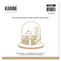 Matrice de coupe Les Ateliers de Karine Collection Woodland - Village