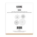 Pochoir broderie Les Ateliers de Karine Collection Intemporelle - Napperons