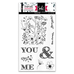 Planche de tampons clear Sokaï - You & Me