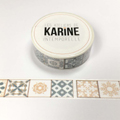 Masking tape Les Ateliers de Karine Collection Intemporelle - Azulejo
