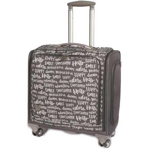 Crafter's Trolley Bag Charcoal We R Memory K